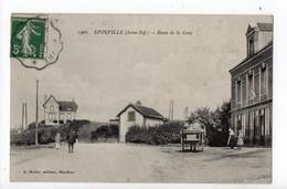 EPOUVILLE - 76 - Seine Maritime - Route De La Gare - Otros Municipios