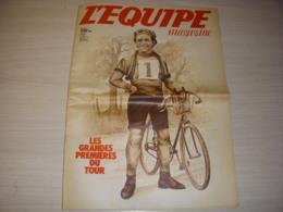 EQUIPE MAG 0073 27.06.1981 VELO GRANDES PREMIERES Du TOUR De FRANCE HINAULT - Sport