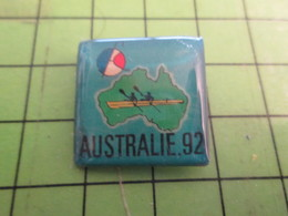 313K Pin's Pins / Rare Et Beau : SPORTS / CANOE OU AVIRON AUSTRALIE 1992 - Canoë