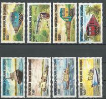CONGO Scott 703-710 Yvert 726-733 (8) ** Cote 22,50 $ 1984 - Congo - Brazzaville