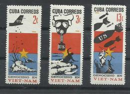 CUBA  YVERT  1047/49   MNH  ** - Cuba