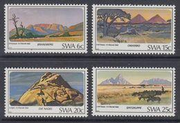 D90819 South West Africa 1982 GEOLOGY MOUNTAINS MNH Set  - SWA Namibia Namibie - Namibie (1990- ...)