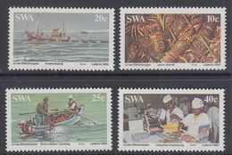 D90819 South West Africa 1983 CRAYFISH SHIPS BOATS MNH Set  - SWA Namibia Namibie Sudwes Afrika - Namibie (1990- ...)