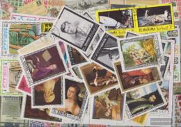 Manama 50 Different Stamps - Manama