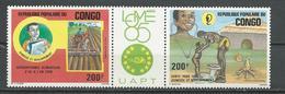 CONGO Scott C342a Yvert PA337a (2) ** Cote 5,75 $ 1985 - Congo - Brazzaville