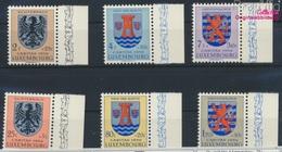 Luxemburg 561-566 (kompl.Ausg.) Postfrisch 1956 Kantonalwappen (9256883 - Luxemburg