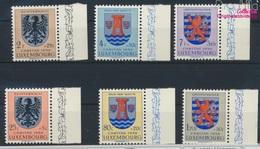 Luxemburg 561-566 (kompl.Ausg.) Postfrisch 1956 Kantonalwappen (9256884 - Luxemburg