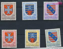 Luxemburg 595-600 (kompl.Ausg.) Postfrisch 1958 Kantonalwappen (9256809 - Luxemburg