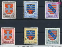 Luxemburg 595-600 (kompl.Ausg.) Postfrisch 1958 Kantonalwappen (9256810 - Ungebraucht