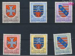 Luxemburg 595-600 (kompl.Ausg.) Postfrisch 1958 Kantonalwappen (9256811 - Luxemburg