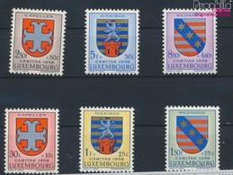 Luxemburg 595-600 (kompl.Ausg.) Postfrisch 1958 Kantonalwappen (9256812 - Luxemburg