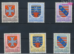 Luxemburg 595-600 (kompl.Ausg.) Postfrisch 1958 Kantonalwappen (9256813 - Luxemburg