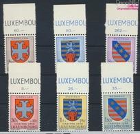 Luxemburg 595-600 (kompl.Ausg.) Postfrisch 1958 Kantonalwappen (9256814 - Luxemburg