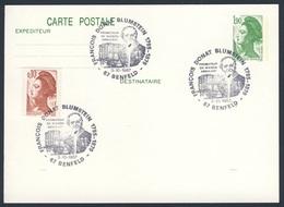 France Rep. Française 1987 Card / Karte / Carte - François Donat Blumstein 1795-1879, Promoteur Du Wagon Ambulant / Post - Treinen