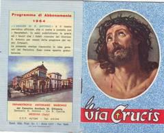 19)librettino Religioso La Via Crucis - Religion