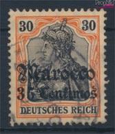 Dt. Post Marokko 39 Gestempelt 1906 Germania-Aufdruck (9257382 - Deutsche Post In Marokko