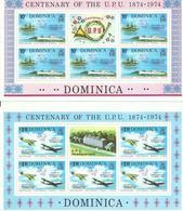 DOMINICA YVERT MP 409/10   MNH  ** - Dominica (1978-...)