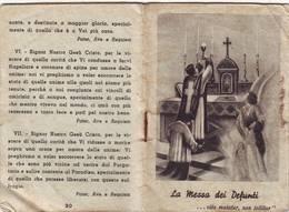 23)librettino Religioso La Messa Dei Defunti - Religion