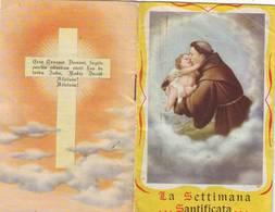 24)librettino Religioso La Settimana Santificata - Religion