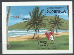 DOMINICA YVERT   H/B 127  MNH  ** - Dominica (1978-...)