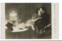 CPA - Cartes Postales -SUISSE-Peinture De Barbut- Davray-l'Heure Du Berger-1908-S3646 - Photographie
