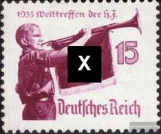 Deutsches Reich 585x Con Fold 1935 Hitler-Gioventù - Deutschland