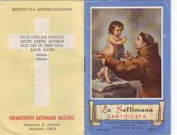 25)librettino Religioso La Settimana Santificata - Religion