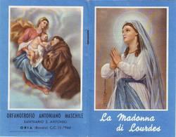 26)librettino Religioso La Madonna Di Lourdes - Religion