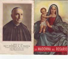 27)librettino Religioso La Madonna Del Rosario - Religion