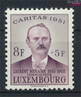 Luxemburg 487 Postfrisch 1951 Caritas (9256411 - Ungebraucht