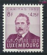 Luxemburg 504 Postfrisch 1952 Caritas (9256388 - Ungebraucht