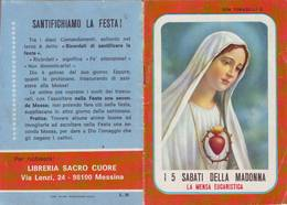 31)librettino Religioso I 5 Sabati Della Madonna - Religion
