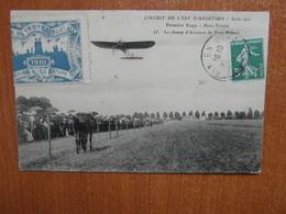 LE CHAMP D'AVIATION  De Pont-hubert  .circuit De L'est Avion   10 Aube - Troyes