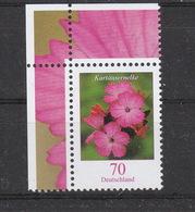 Deutschland BRD  ** 2529  Blumen Kartäusernelke - [7] República Federal