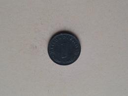 1943 A - 1 Reichspfennig ( KM 97 ) Uncleaned ! - [ 4] 1933-1945 : Troisième Reich