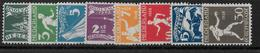 NEDERLAND - 1928 - JEUX OLYMPIQUES à AMSTERDAM - YVERT N° 199/206 * MLH - COTE = 65 EUR. - Period 1891-1948 (Wilhelmina)
