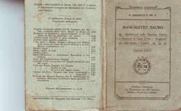 33)librettino Religioso  Manualetto Sacro - Religion