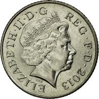 Monnaie, Grande-Bretagne, Elizabeth II, 10 Pence, 2013, British Royal Mint, TTB - 1971-… : Monnaies Décimales