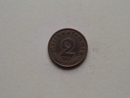 1939 A - 2 Reichspfennig ( KM 90 ) Uncleaned ! - [ 4] 1933-1945 : Troisième Reich