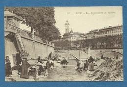 NICE - Les Lavandières Du Paillon.  ( Thème Laveuses ) . ( Ref 112 ) - Straßenhandel Und Kleingewerbe