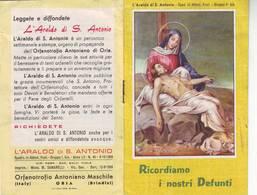 36)librettino Religioso  Ricordiamo I Nostri Defunti - Religion