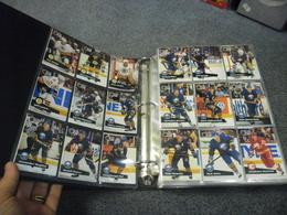 ALBUM 36 Pages Et 630 TRADING CARDS SPORT NHL Pro Set HOCKEY SUR GLACE SAISON 1991/1992 - Trading Cards
