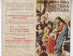 37)librettino Religioso Primi Elementi Della Dottrina Cristiana - Religion