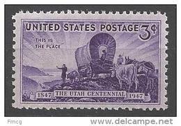 1947 3 Cents Utah, Mint Never Hinged - United States