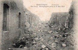 85Ct   Martinique Saint Pierre Rue Lucy Le 10 Mai 1902 - Other