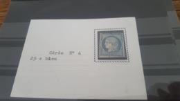LOT427507 TIMBRE DE FRANCE OBLITERE N°4 - 1849-1850 Cérès