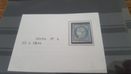 LOT427507 TIMBRE DE FRANCE OBLITERE N°4 - 1849-1850 Ceres