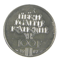 100 Francs - La Fayette   - France - 1987 - Argent - TTB+ - - N. 100 Franchi