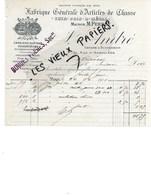 75 - Paris - PARIS - Facture ANDRE - Fabrique D'articles De Chasse - 1901 - REF 114C - France