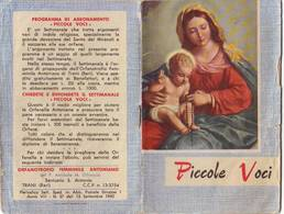 41)librettino Religioso Piccole Voci - Religion